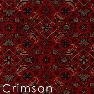 Crimson Bidjar custom cut area rugs