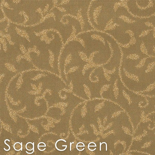 Jacobean Vine Sage Green