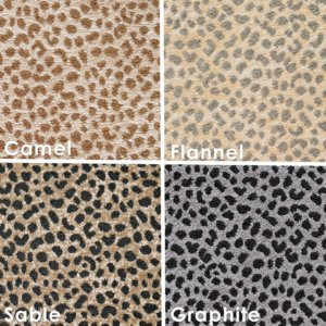 Kimba Luxury Indoor Leopard Pattern Area Rug Collection