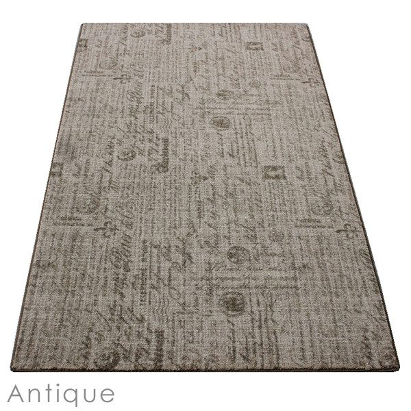 Letters D'amore Antique Area Rug