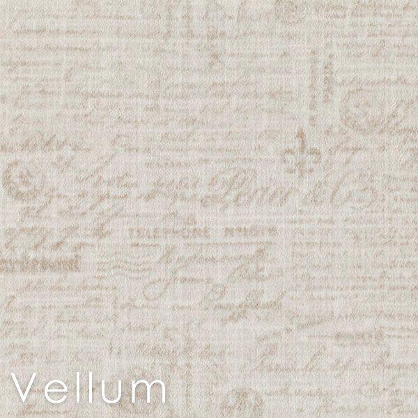 Letters D'Amore Vellum Custom Cut Area Rugs