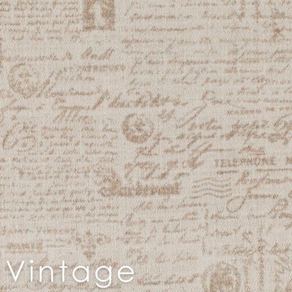 Letters D'Amore Vintage Custom Cut Area Rugs