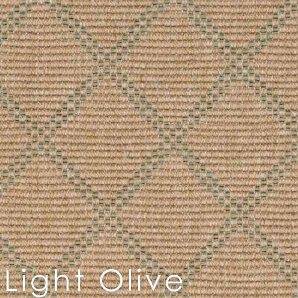 Light Olive Bedford Collection Custom cut Area rugs
