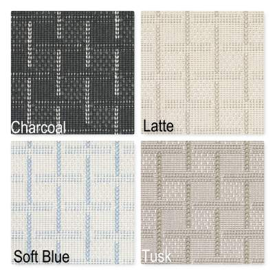 Parker Square Pattern Indoor Area Rug Collection