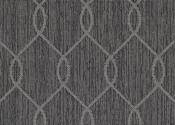 Slate Paloma Ogee Pattern Indoor Area Rug Collection