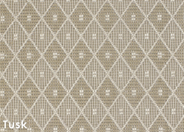 Somersworth Diamond Pattern Indoor Area Rug Collection Tusk