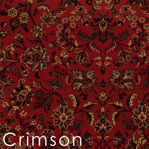Isfahan Crimson custom cut area rugs