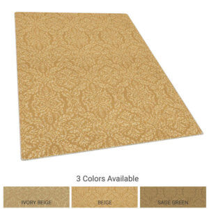 Antique Damask Luxury Indoor Area Rug Charisma Collection