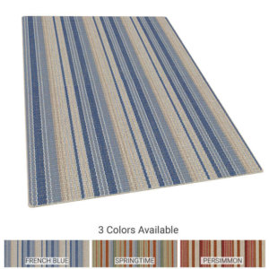 Astin Stripe Pattern Indoor Area Rug Collection