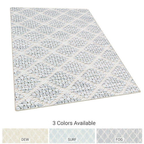 Brookhaven Diamond Pattern Indoor Area Rug Collection