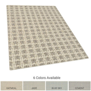 Checkers Luxury Indoor Area Rug Collection