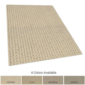 Elm Natural Wool Area Rug Collection