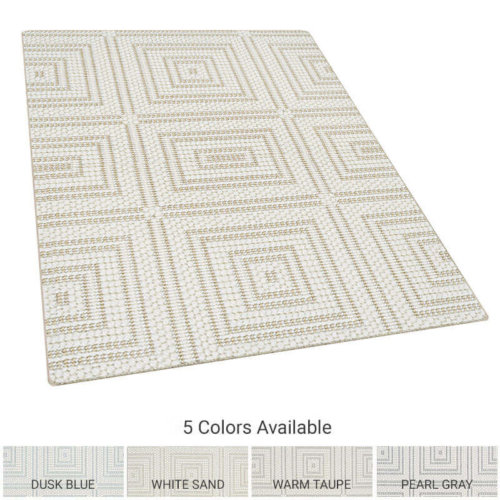 Grafton Square Square Pattern Indoor Area Rug Collection