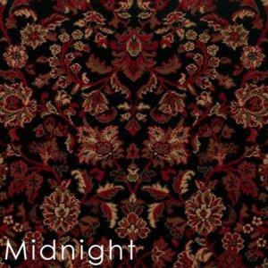midnight isfahan custom cut area rugs