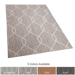 Paloma Ogee Pattern Indoor Area Rug Collection