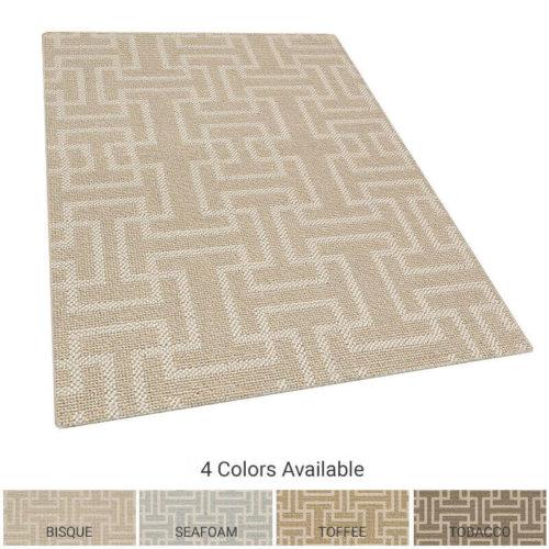 Sanibel Pattern Indoor Area Rug Collection