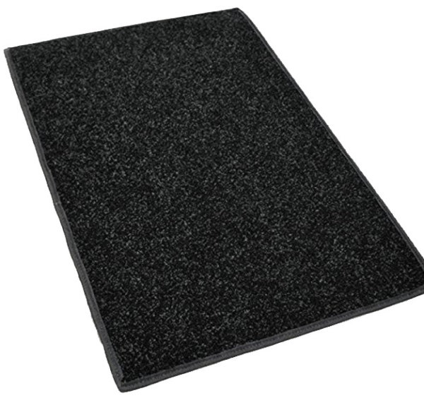 Charcoal Indoor and Outdoor Area rugs