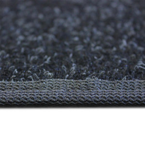 Charcoal Black Indoor-Outdoor Durable Soft Area Rug Carpet side