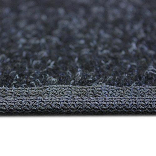Charcoal Black Indoor-Outdoor Durable Soft Area Rug Carpet side