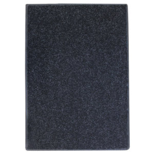 Charcoal Black Indoor-Outdoor Durable Soft Area Rug Carpet Top