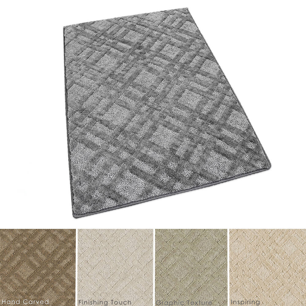 Milliken Interweave Indoor Pattern Area Rug Collection Collage