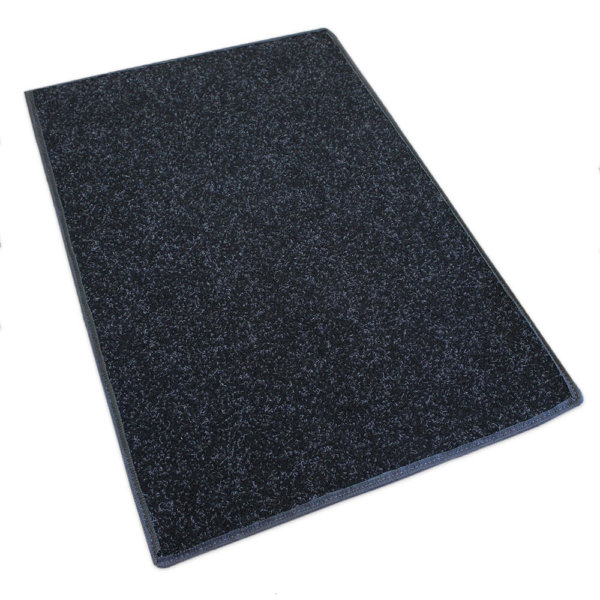 Charcoal Black Indoor-Outdoor Durable Soft Area Rug Carpet rug