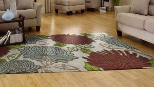 Indoor rug color