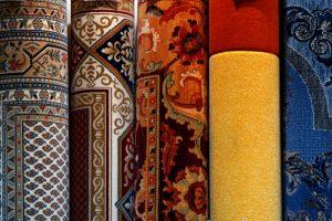 Custom cut rugs