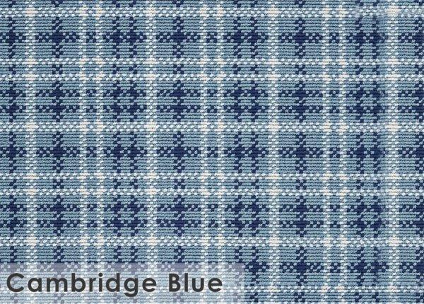 Castle Hill Custom Cut Indoor Outdoor Area Rug Collection Cambridge Blue