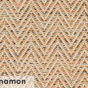 Tortola Chevron Pattern Indoor Outdoor Area Rug Collection Cinnamon