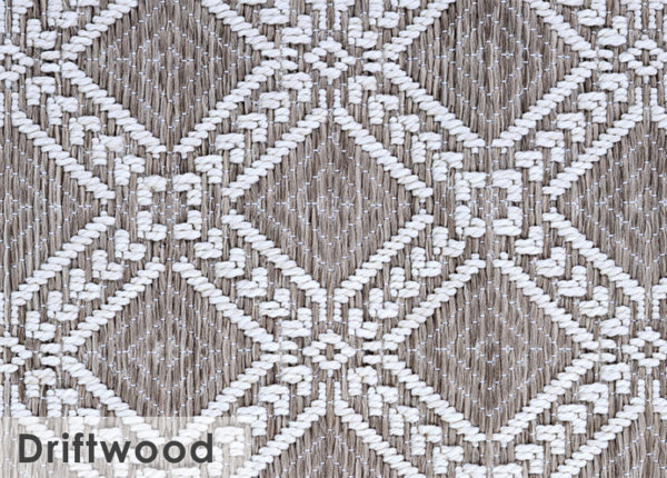 Belmar Custom Cut Indoor Outdoor Area Rug Collection Driftwood