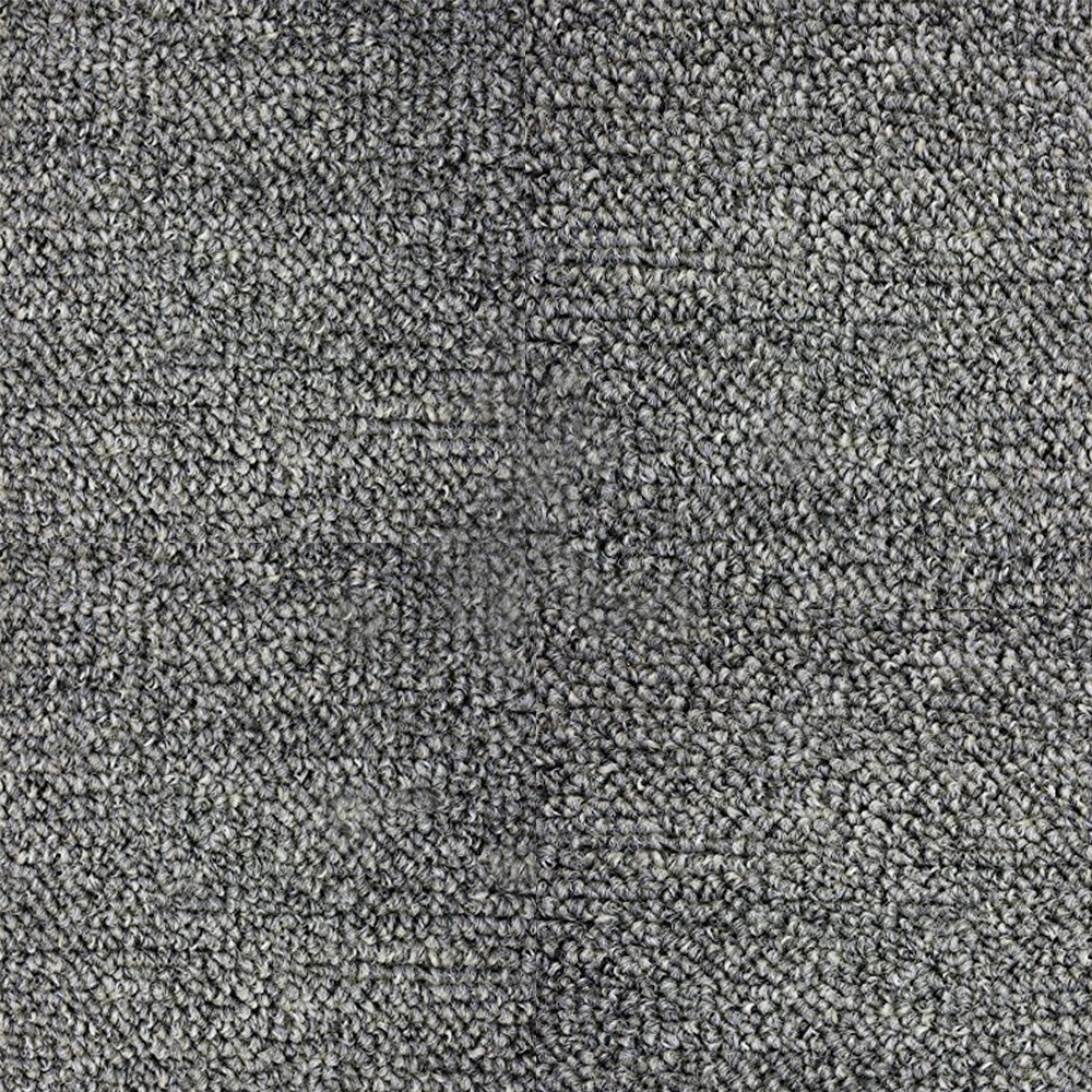 Gun Metal Indoor-Outdoor Area Rug Creative Carpet Solutions