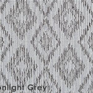 Moonlight Grey Berkshire Custom Cut Indoor Outdoor Area Rug Collection