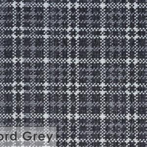 Castle Hill Custom Cut Indoor Outdoor Area Rug Collection Oxford Grey