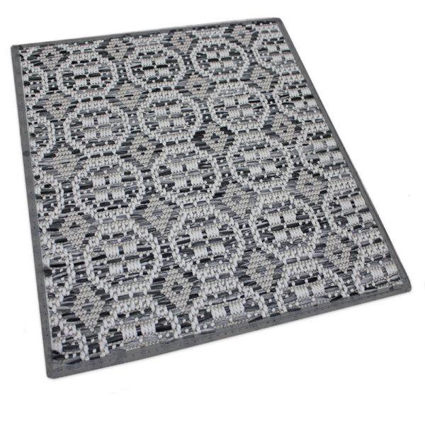 Pelican Island Custom Cut Indoor Outdoor Area Rug Collection Silver rug