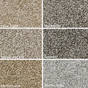 "Soft Charm Speckled Indoor Area Rug Collection | 3/8"" Thick 30 oz Cut Pile In Multiple Colors 