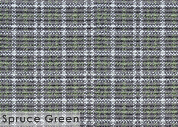 Castle Hill Custom Cut Indoor Outdoor Area Rug Collection Spruce Green