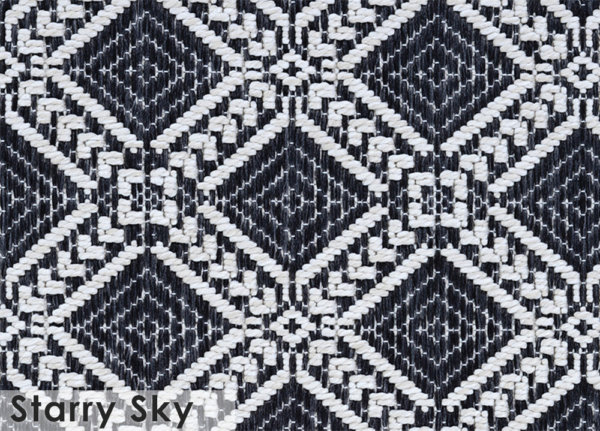 Belmar Custom Cut Indoor Outdoor Area Rug Collection Starry Sky