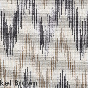 Thicket Brown Stockbridge Custom Cut Indoor Outdoor Area Rug Collection