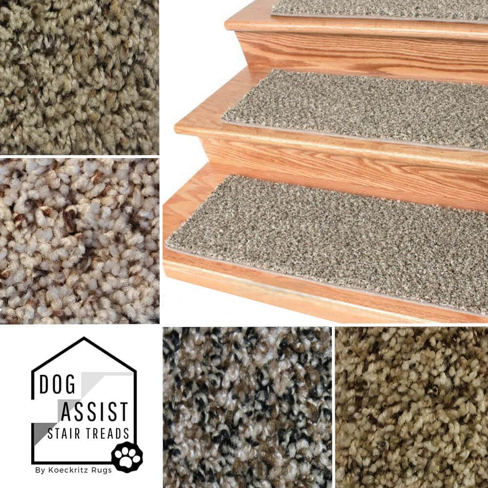 Toast of the town DOG ASSIST Carpet Stair Treads