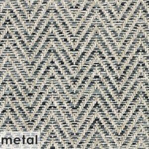 Tortola Chevron Pattern Indoor Outdoor Area Rug Collection Gunmetal