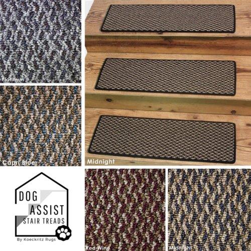 Zeal Graphic Loop DOG ASSIST Carpet Stair Treads