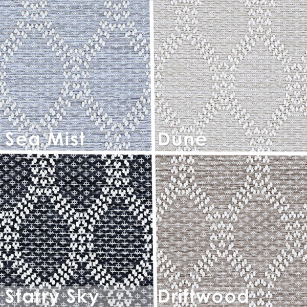 Ortley Custom Cut Indoor Outdoor Area Rug Collection | Multiple Color Options | Customize Your Size