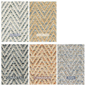 Tortola Chevron Indoor Outdoor Area Rug Collection - 5 Colors Available