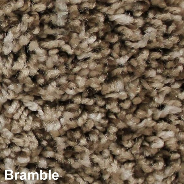 West Brow Indoor Frieze Area Rug Collection Bramble