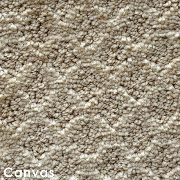Marquis Diamond Pattern Indoor Area Rug Collection Canvas