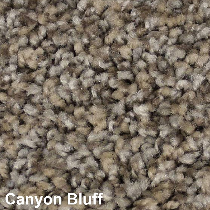 West Brow Indoor Frieze Area Rug Collection Canyon Bluff