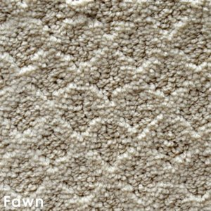 Marquis Diamond Pattern Indoor Area Rug Collection Fawn