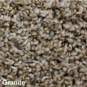 West Brow Indoor Frieze Area Rug Collection Granite
