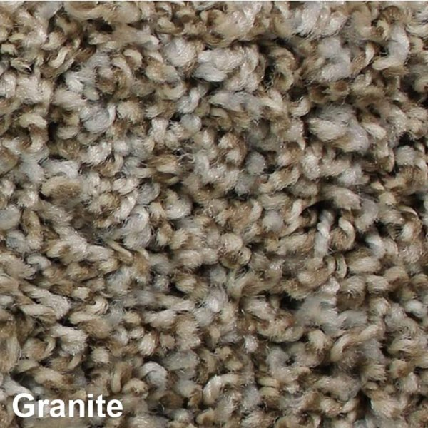 West Brow Indoor Frieze Area Rug Collection Granite